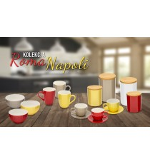 KUBEK PORCELANOWY ROMA 420ML