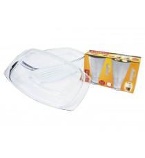 Naczynie szklane żaroodporne pokrywa 5,8L szklanki