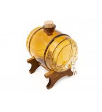 Beczka szklana beczułka karafka z kranikiem Bur 5L