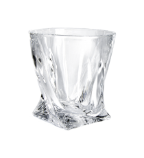 Szklanki do whisky Quadro BOHEMIA szkło 6szt 340ml