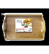 Taca bambusowa tacka śniadaniowa deska 41,5 x 27cm