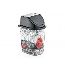 Kosz na śmieci pojemnik odpady click 5,6L LONDYN