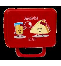 Pojemnik śniadanowy śniadaniówka lunchbox 20x16cm