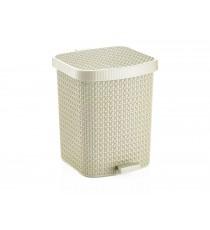Kosz na śmieci odpady z pedałem Tress 22L Ivory