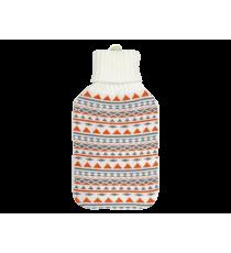 TERMOFOR gumowy z POKROWIEC 2L sweterek KREMOWY