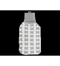 TERMOFOR gumowy z POKROWIEC 2L sweterek ROMBY