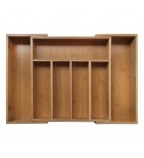 Wkład BAMBUSOWY do szuflady na sztucće organizer