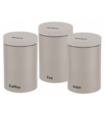 Zestaw pojemników na kawę herbatę cukier KB-7256 B