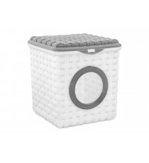 Pojemnik na detergenty proszek kapsułki Rattan 3L