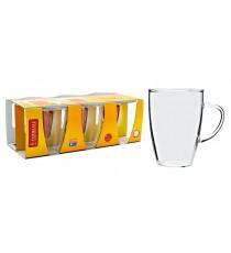 Szklanka żaroodporna zestaw 6szt Klasyczna 250ml