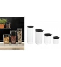 Pojemnik na produkty sypkie mąkę ryż 0,6L Hamburg