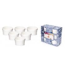 Zestaw kokilka 6szt ceramiczna na muffiny 7cm