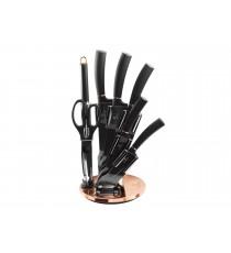 Komplet noży 8el noże w bloku BH-2421 Berlinger Haus Black Rose collection