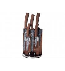 Komplet noży 6el noże w bloku BH-2160 Berlinger Haus Forest Line