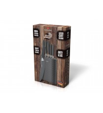 Komplet noży 7el noże w bloku BL-5058 Blaumann Non Stick Chef