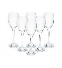 Kieliszki do szampana likieru 190ml komplet 6szt